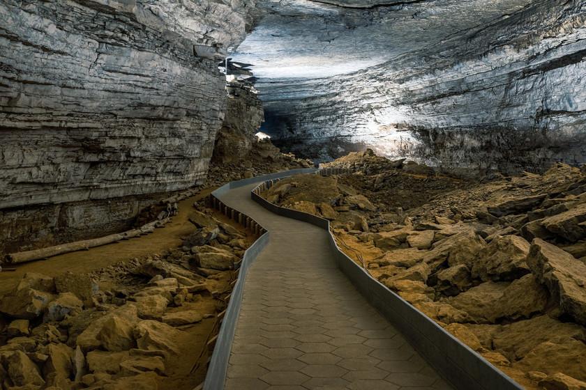 cueva de mamut en Arkansas