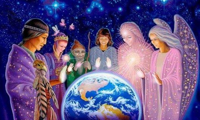 guías espirituales de la unidad